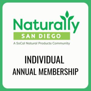 individual membership naturally san diego
