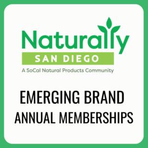 emerging brand membership naturally san diego