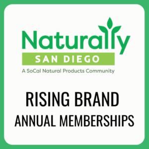 naturally san diego rising brand membership